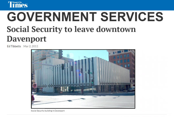 Davenport - Social Security Building